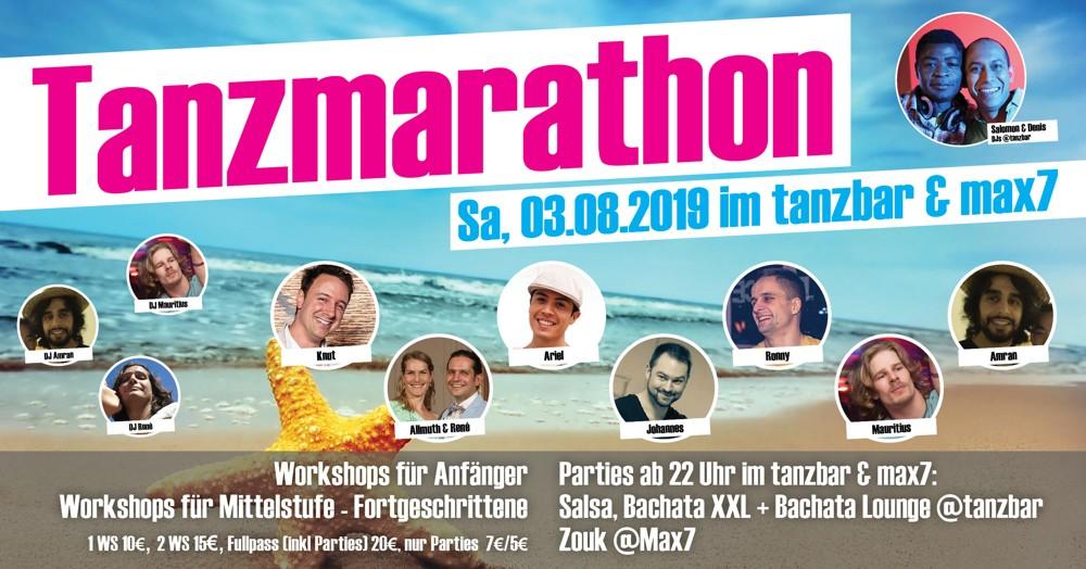 Tanzmarathon Tanzschule Max7 Bonn
