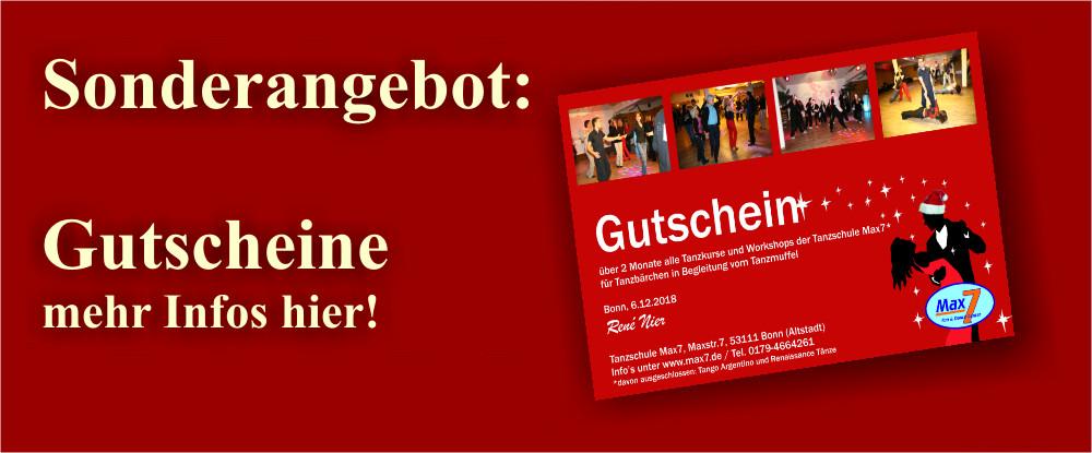 Tanz Gutschein Bonn