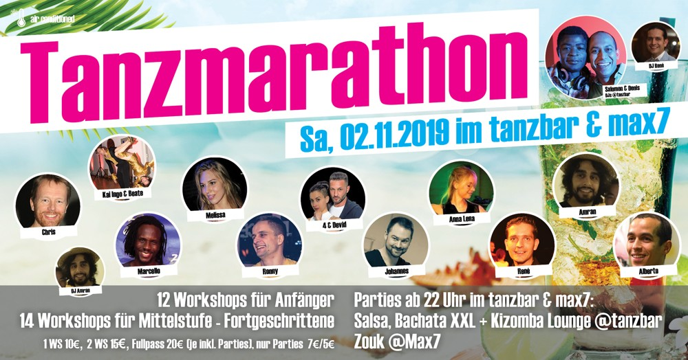 Tanzmarathon 2. November 2019