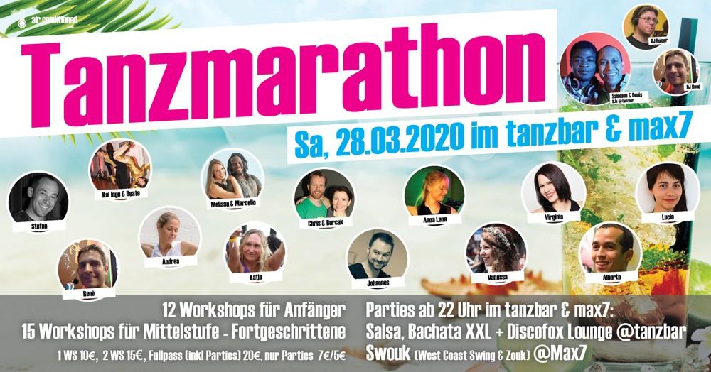 Tanzmarathon 28. März 2020